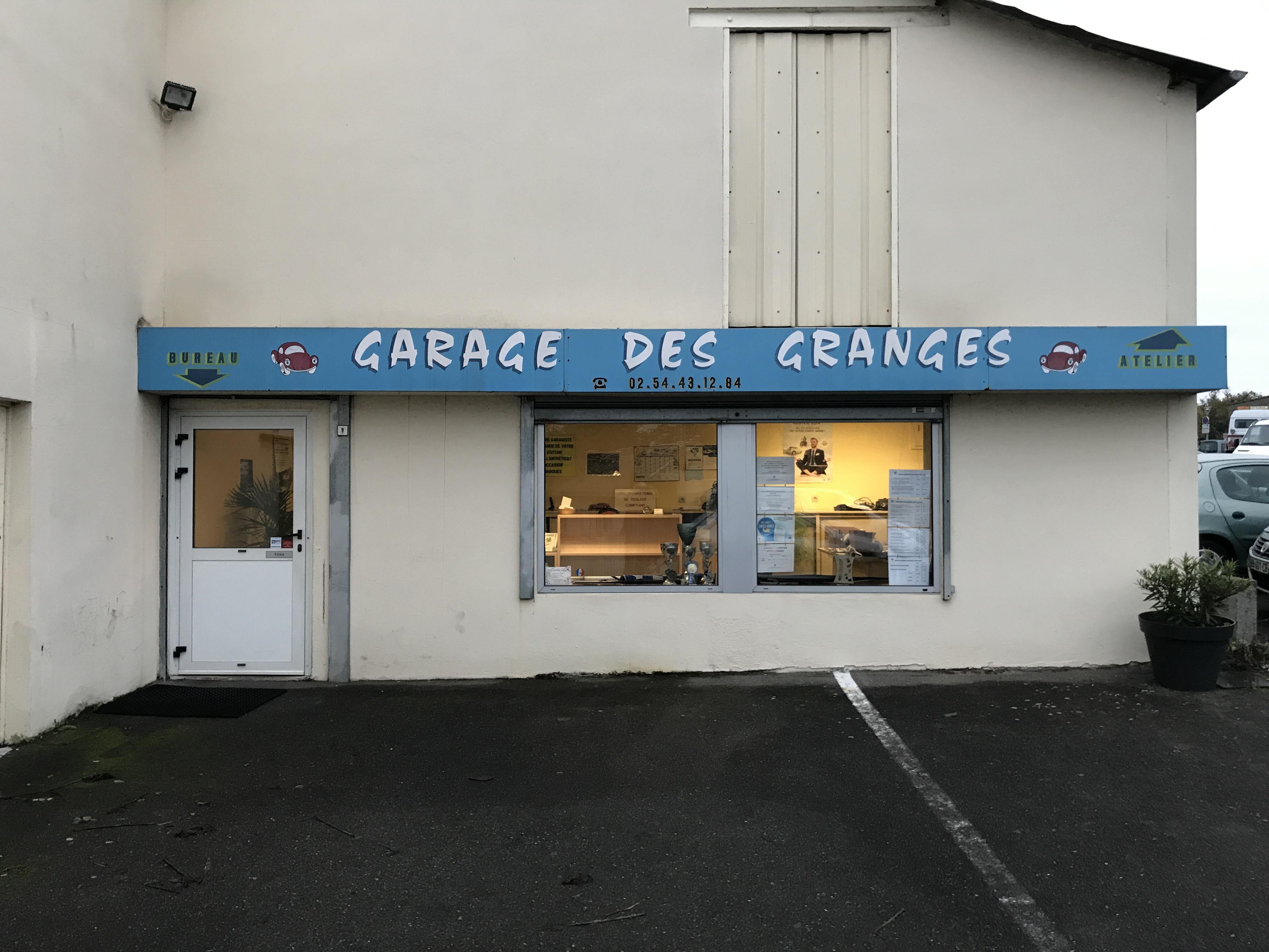 Garage des Granges à Blois (41) - Vente de véhicules neufs et occasions